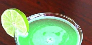 Celebrate St. Patrick's Day With The Emerald Rain Cocktail